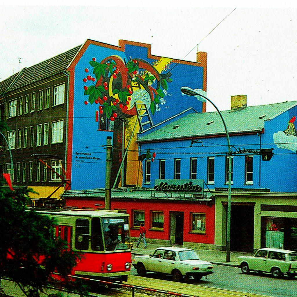 """Altes Bild vom Tanzlokal """"Mazurka2 an der Berliner Allee"""